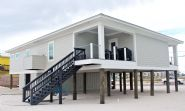 Moreland modern piling home on Navarre Beach by Acorn Fine Homes - Thumb Pic 5