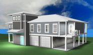 Modern coastal piling home in Navarre by Acorn Fine Homes - Thumb Pic 2