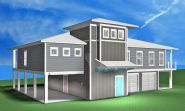 Modern coastal piling home in Navarre by Acorn Fine Homes - Thumb Pic 6