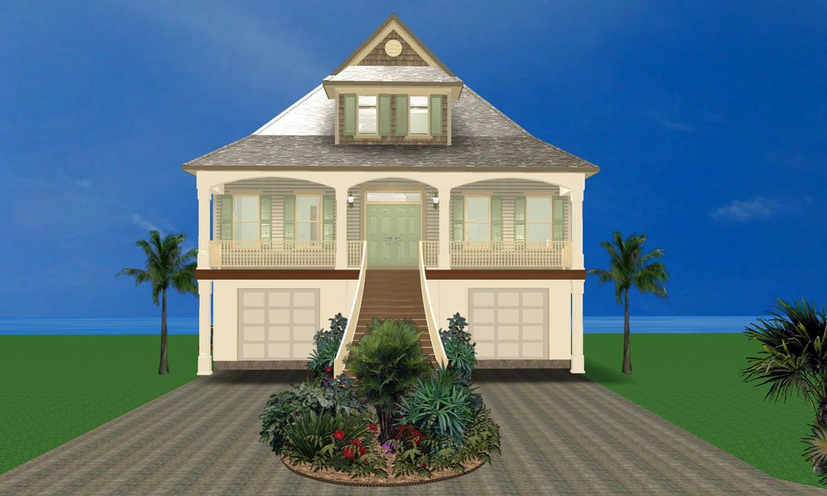 Home plans by Les White Designs and Acorn Fine Homes