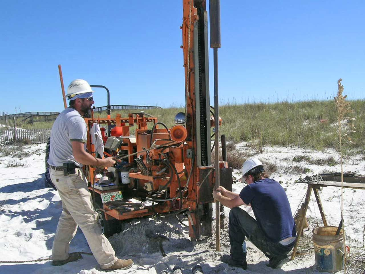Acorn Construction builds piling homes on Navarre Beach
