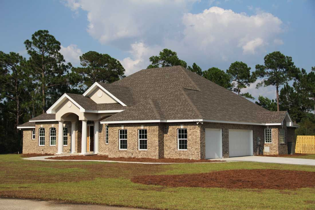 Black custom home by Acorn Fine Homes in Navarre