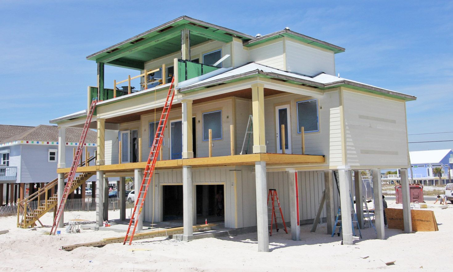 Agostin ICF home in Navarre by Acorn Fine Homes