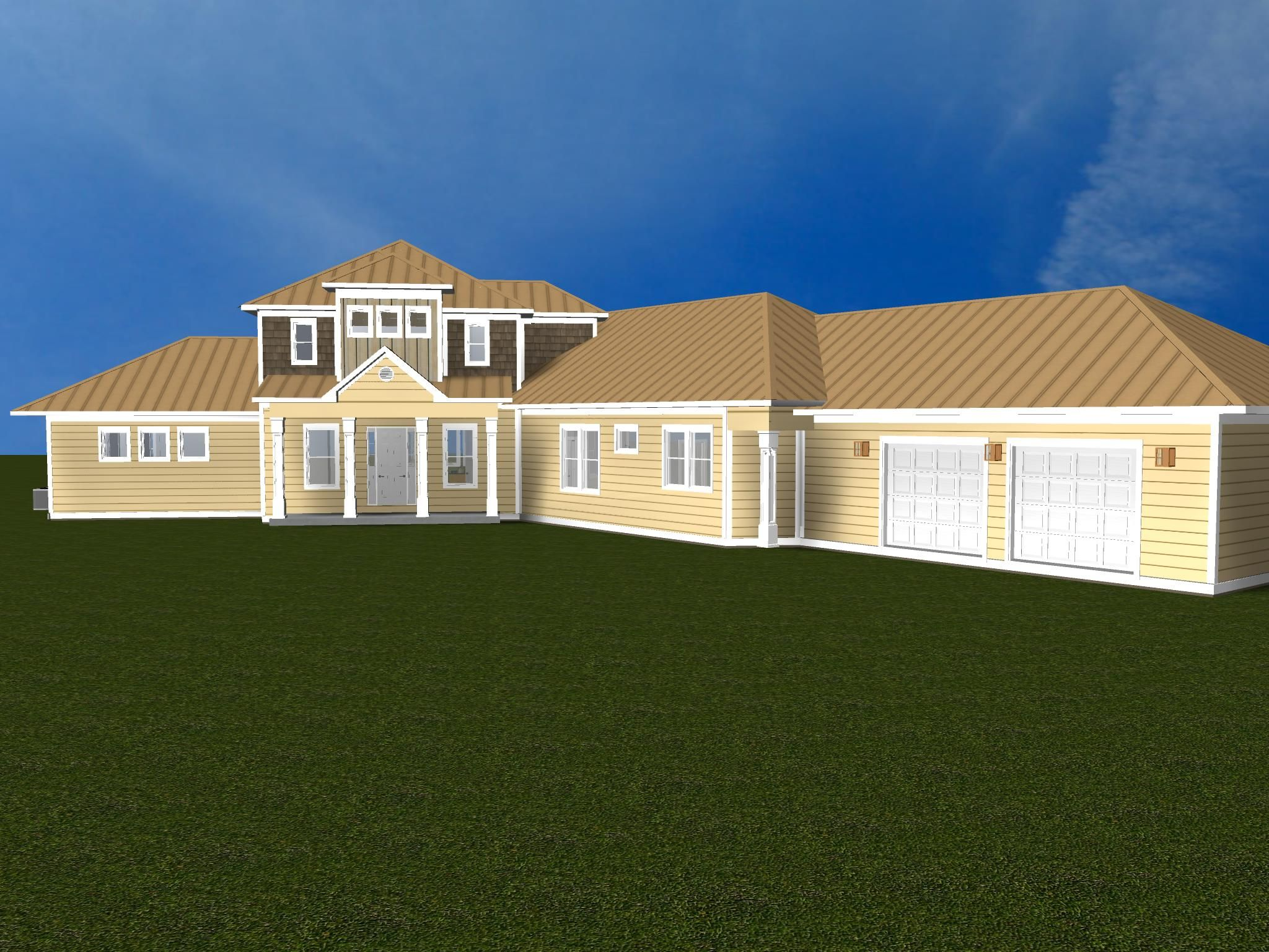 Seidel remodel rendering by Acorn Fine Homes