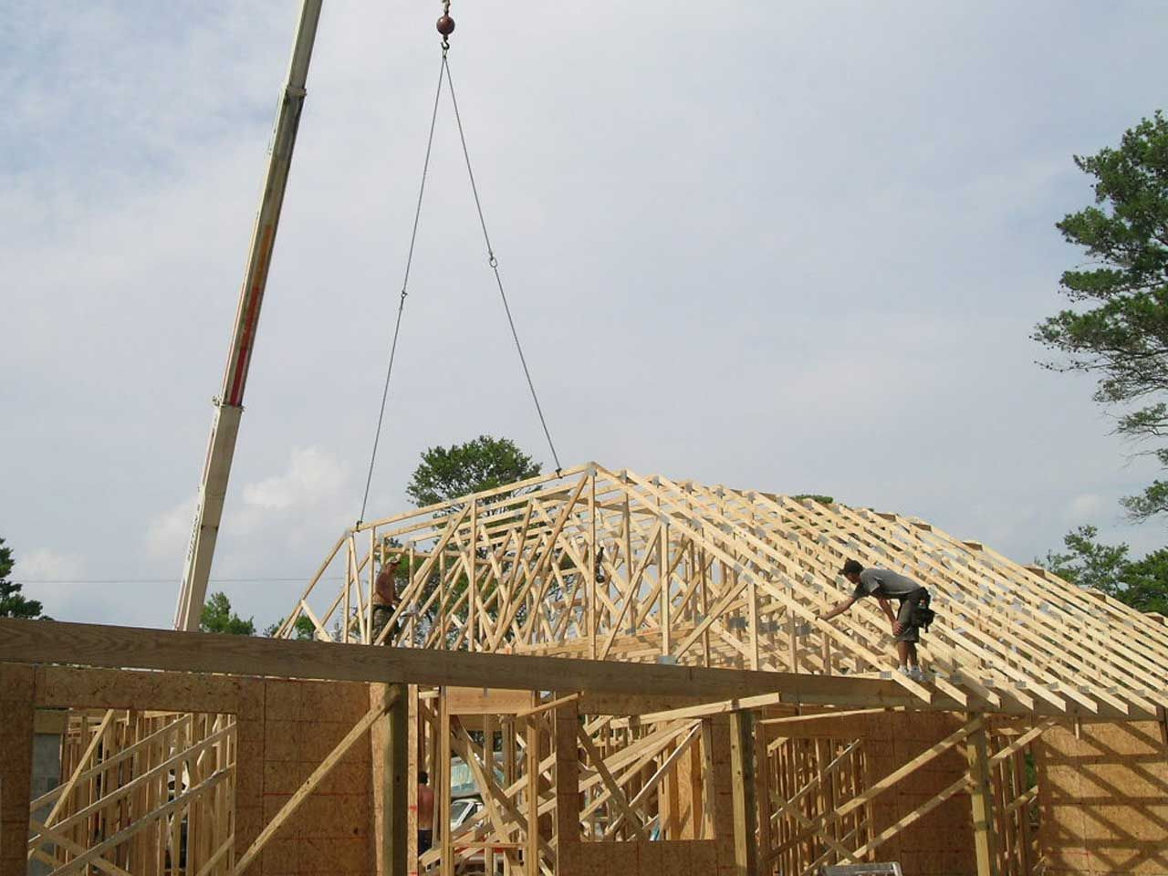 setting trusses in Navarre