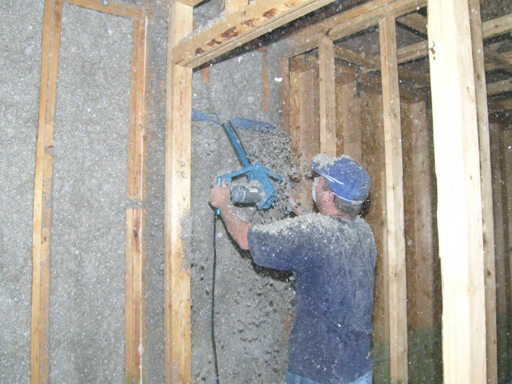 cellulose wall insulation