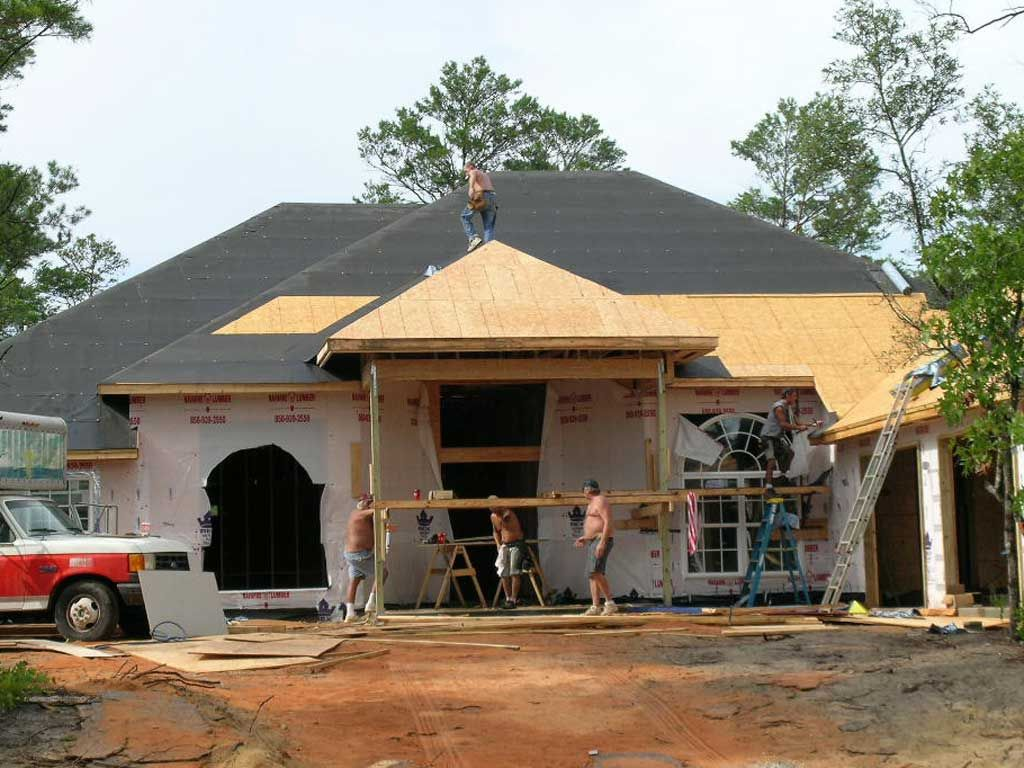 building a home in Navarre